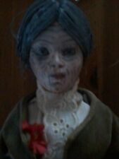 """HORROR  ICON MOTHER BATES 12"""" PORCELAIN DOLL ZOMBIE PROP HALLOWEEN PROP"""