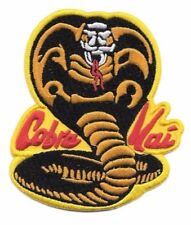 "Karate Kid Movie & TV Series Cobra Kia Embroidered 3 1/2"" Tall Patch"