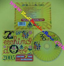 CD COMPILATION 48° Zecchino D'Oro 2005 82876746232 ITALY 2005 no lp mc vhs(C30)