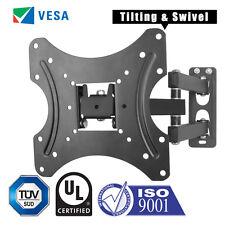 Tilt Swivel TV Wall Bracket Mount 16 23 26 30 32 37 40 42 Inch LCD LED Monitor