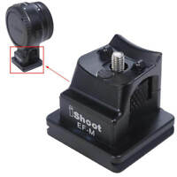 Metal Replacement Base Stand for Canon EF-EOS M Camera Lens Mount Adapter Ring