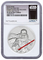 2017 Niue Star Wars - Darth Vader UHR 2 oz Silver NGC PF69 UC FR SKU49471