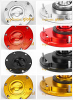 For TRIUMPH Daytona Speed Triple Sprint Tiger Street Triple Gas Cap CNC 6 bolts