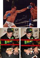 "MAURICIO ""SHOGUN"" RUA signed Autographed ""PRIDE"" 8X10 PHOTO h PROOF - UFC COA"