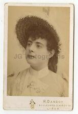 19th Century Fashion - Vintage Cabinet Card Photo - Liege, Belgium - 1888