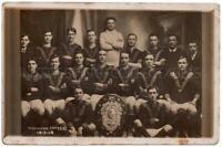 WEDNESDAY UNITED Football Club 1913-1914 Real Photo Postcard