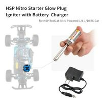 Glow Plug Igniter with Battery Charger for HSP RedCat Powered 1/8 1/10 RC Car