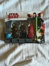 Star Wars Emperor Palpatine & Luke Skywalker & Royal Guard Action Figures