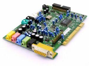 Turtle Beach Santa Cruz Dsp 6-Kanal PCI Audio Board Sound Card 038FRH TB400-2541
