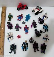 Halo Mega Blok, Marvel, Kreo Transformers Minifigure Lot Rare Blue Spartan