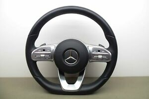 MERCEDES E CLASS W213 W238 AMG Leather Steering Wheel A0050071699 A0008604504