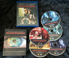 Blade Runner (5 Disc Complete Collector's Edition, Blu-ray/Dvd, 2007) Rare! Oop!