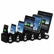 6 Port Smart Phone Charger - Retail Packaging