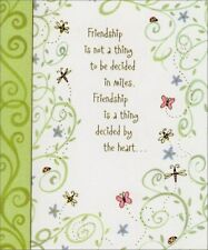 Butterflies & Swirls Friendship Card - Greeting Card by Freedom Greetings