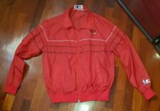 NBA starter chicago Bulls vintage 1980s giacca jacket jordan LARGE air basketbal