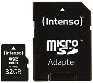 Intenso Micro SDHC Karte 32GB Speicherkarte Class 4 bulk