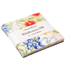 "Moda FABRIC Charm Pack ~ WILDFLOWERS VIII ~ by Moda 42 - 5"" squares"