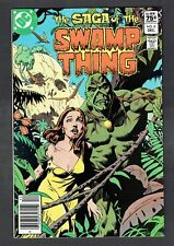 Saga of the Swamp Thing #8 DC Comics 1982 NM- RARE .75 Canadian Price Variant