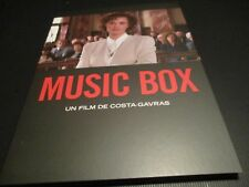 "BLU-RAY DIGIPACK NEUF ""MUSIC BOX"" Jessica LANGE / Costa-Gavras"