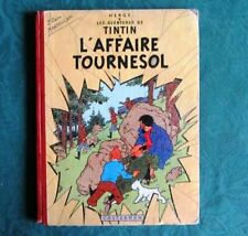 HERGE - TINTIN L AFFAIRE TOURNESOL 1956 DOS ROUGE