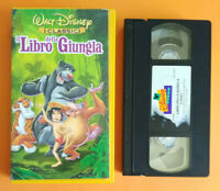 VHS Film Ita Animazione Walt Disney IL LIBRO DELLA GIUNGLA no dvd cd mc lp(V189)