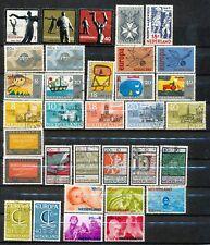 Nederland jaargangen 1965 - 1966 gebruikt zonder de blokken (2)