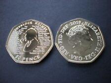 2019 Sir Arthur Conan Doyle Sherlock Holmes™ BU 50p Coin Brilliant Uncirculated
