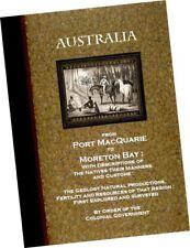 Clement Hodgkinson AUSTRALIA from Port MacQuarie to Moreton Bay 1845 Color pls