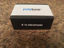 New TC Electronic Polytune 3 Pedal Tuner