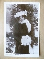 1906 Postcard- Actress MISS MARIE STUDHOLME, No. 1270 + Stamp