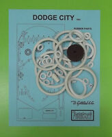 1965 Gottlieb Dodge City pinball rubber ring kit