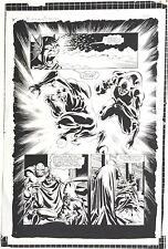 D.C. COMICS BATMAN / DEMON RARE PRE-PRESS VELOX B&W PROOF SHEET
