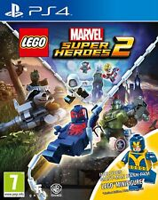 LEGO Marvel Super Heroes 2 PS4 Game with Minifig.