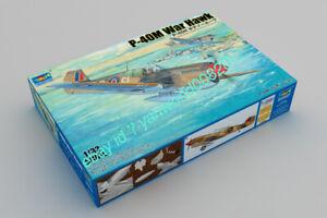 Trumpeter 02211 1:32 P-40M War Hawk Plastic model kit