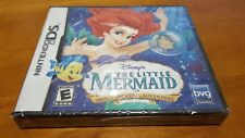 Disney's The Little Mermaid: Ariel's Undersea Adventure (Nintendo DS) 3ds NEW