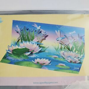All Occasion Pop Up 3D Greeting Card Dragonflies Up With Paper A-047