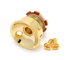 Gold Socket Style Jack Plate w/Jack for Telecaster/Tele® JP-SOCK-G