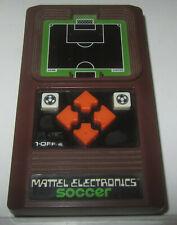 Mattel Electronics Soccer 1978 handheld game Videogioco Videogame FUNZIONANTE