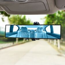 Blue Anti Glare Flat Rear View Mirror Replacement For Car Interior 300mm x 80mm
