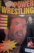 Power Wrestling Magazin November 2000 WWE WCW + 4 Poster (Rock, Kidman, Kane)