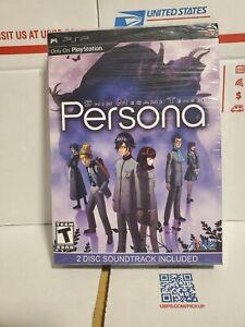 Shin Megami Tensei: Persona (Sony PSP, 2009) Collectors Edition W/ Soundtrack