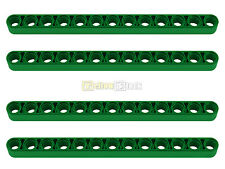 4x LEGO® Technic 41239 Liftarm 1 x 13 breit grün NEU thick green