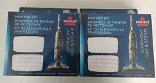 2 x Bissell Mop Pad Kits model 1252 fits 1132 Symphony Vac & Steam