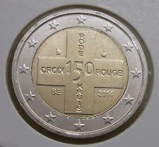 2 euro UNC Belgien 2014 Rotes Kreuz
