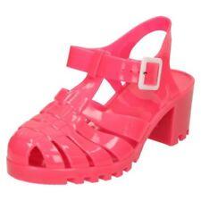 Zapatos de tacón de mujer sin marca color principal rosa sintético