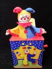 Schylling 1997 Musical Jack In The Box Tin Toy