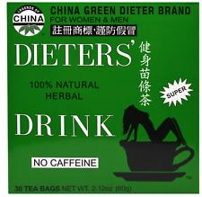 Uncle Lee Dieters' Drink Chinese Green dieter brand Herbal tea for Weight loss