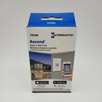 New Intermatic Ascend STW700W Programmable Wi-Fi Timer Electronic In-Wall Switch