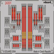 EDUARD MODELS 1/43 Racing Car Seatbelts- Sabelt 6-Points Red EDU24301