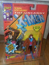 GAMBIT Action Figure Uncanny XMen 1992 Toy Biz  Signed Lee Weeks St Jude Charity